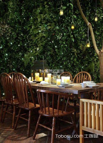 300平米餐厅餐桌装修图片欣赏