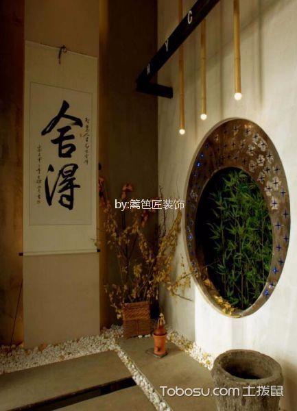 800平米茶馆玄关装潢效果图欣赏