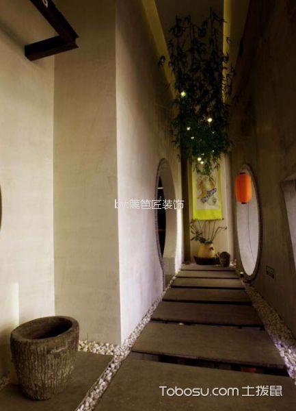 800平米茶馆走廊设计图欣赏