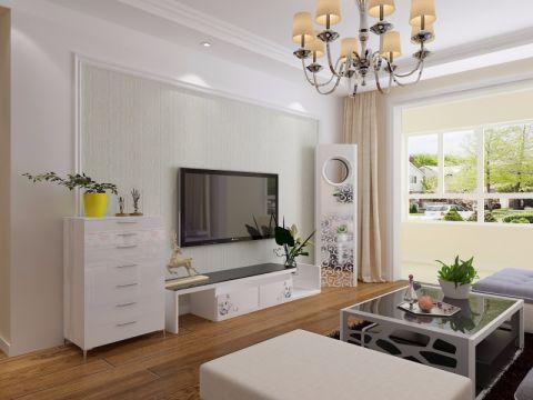 客厅电视柜现代风格装修设计图片