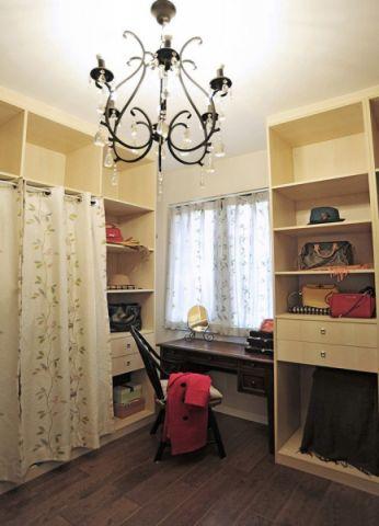 衣帽间窗帘现代风格装潢图片