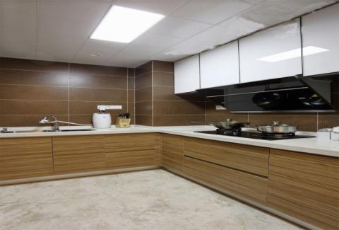 厨房吊顶北欧风格装饰效果图