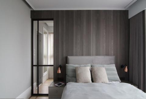 卧室吊顶北欧风格装潢效果图