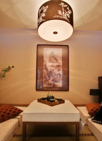书房榻榻米中式风格装潢图片