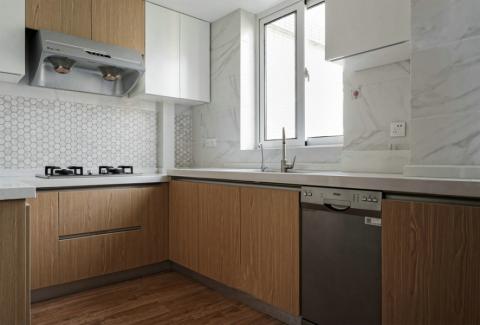 厨房吊顶北欧风格装潢设计图片