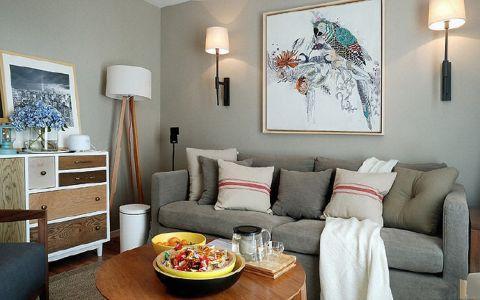 金地80平北欧风格二居室装修效果图