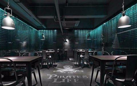 500平米海盗风格清吧装修效果图