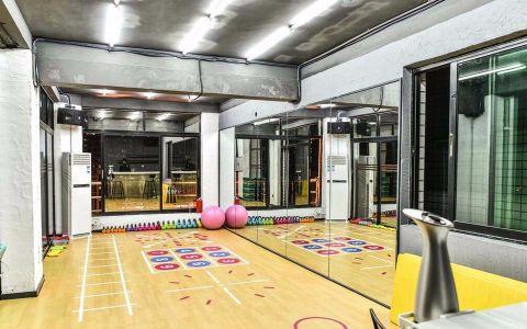 330平米健身会所装修效果图