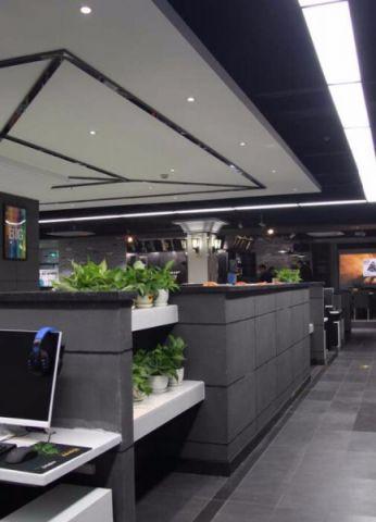 580平米网吧网咖装修效果图