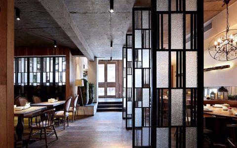 300平米餐厅装修效果图