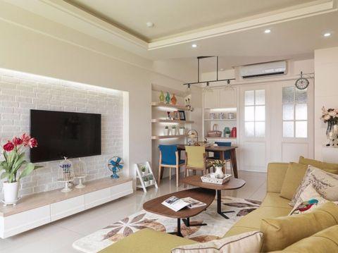 奢华白色客厅设计方案