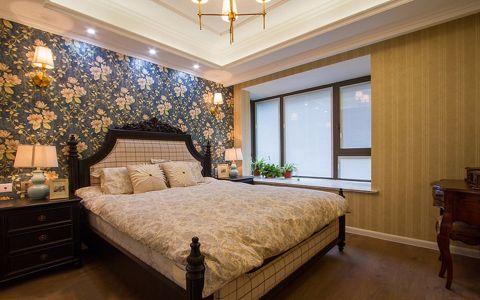 卧室彩色背景墙装修实景图