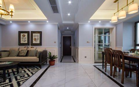 玄关走廊美式效果图