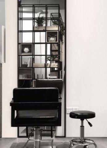130平米美发沙龙美发店装修效果图