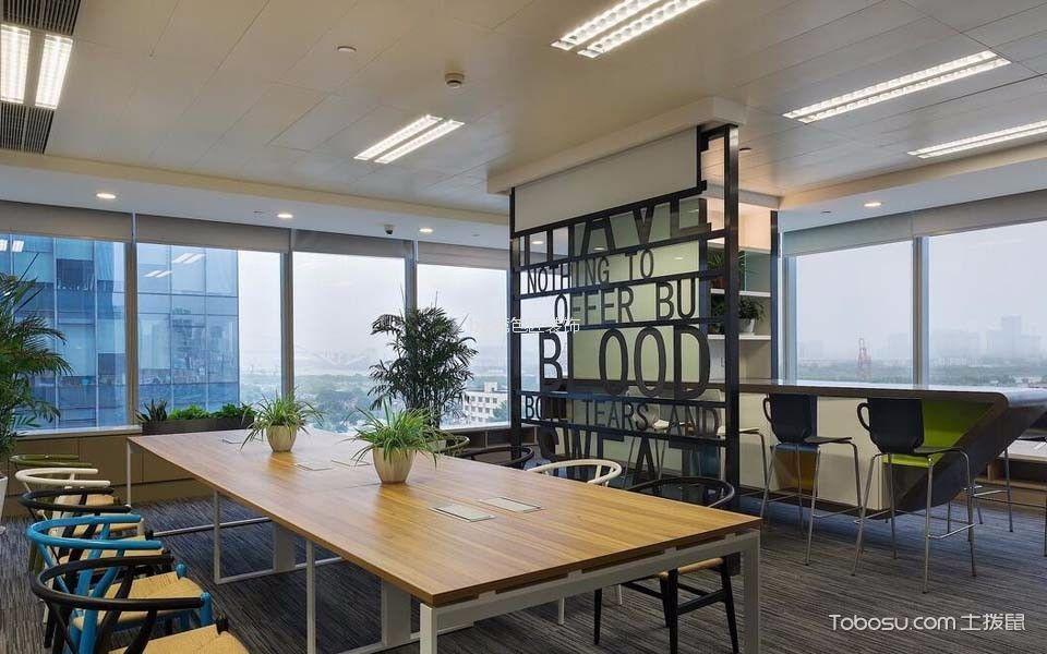 1000平写字楼会议室吊顶装潢效果图欣赏
