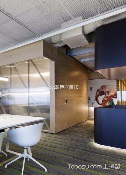 580平米办公室走廊设计图欣赏