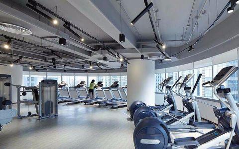 550平米健身房装修效果图