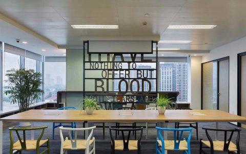 1000平写字楼办公室装修效果图