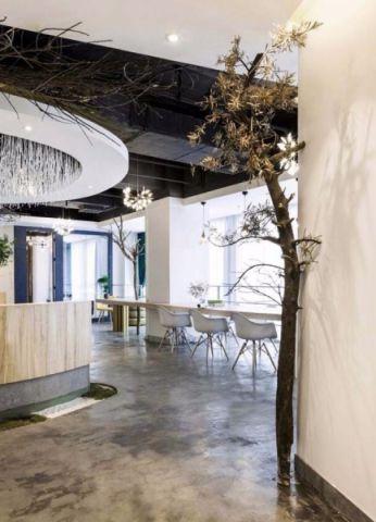 360平米办公室装修效果图