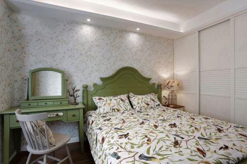 卧室梳妆台美式风格装饰设计图片