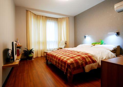 卧室地板砖现代简约风格装饰图片