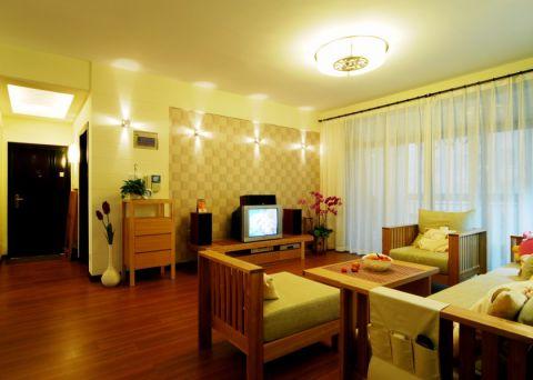 滨湖名邸139平现代简约三居室装修效果图