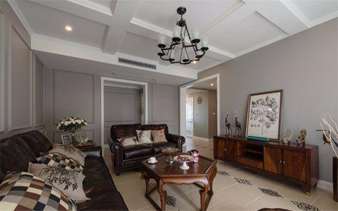 原树提香欧式114平三室一厅装修效果图