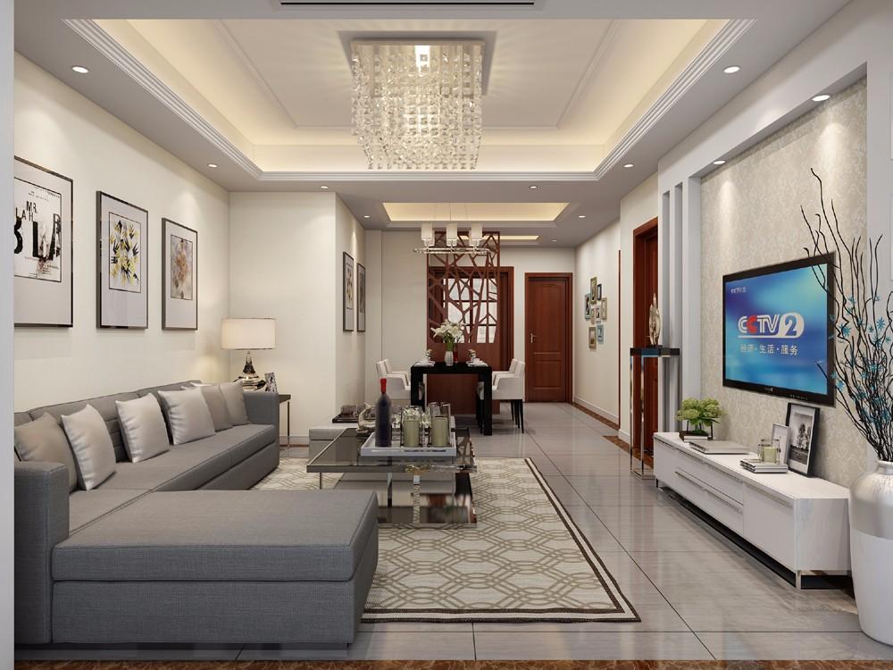 3室2卫1厅现代简约风格