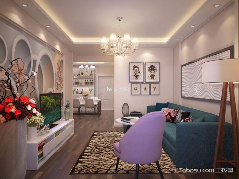 11万预算110平米两室两厅装修效果图
