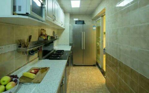 厨房走廊田园风格装潢图片