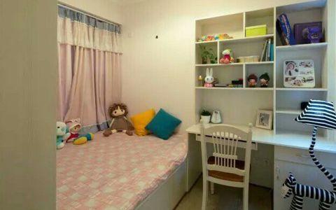 儿童房书桌田园风格装修设计图片