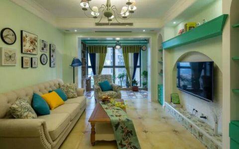 客厅走廊田园风格装饰设计图片