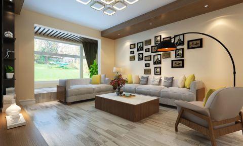 6万预算80平米两室两厅装修效果图