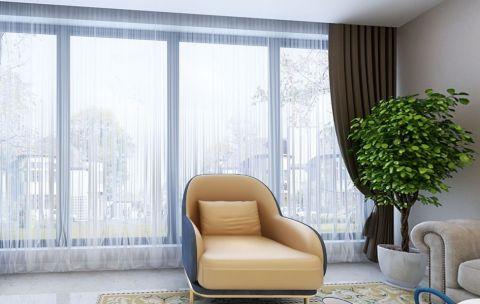 宁波新天地东区95平简欧风格二居室效果图