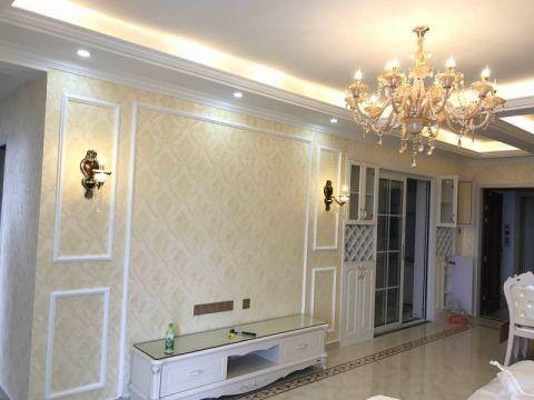客厅简欧风格装饰效果图