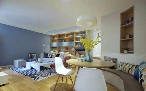 8万预算110平米公寓装修效果图