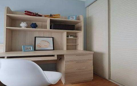 书房推拉门现代简约风格装潢设计图片