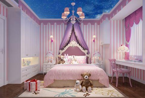 儿童房吊顶欧式风格装修图片