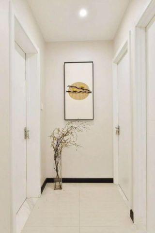 玄关背景墙新中式风格装饰效果图