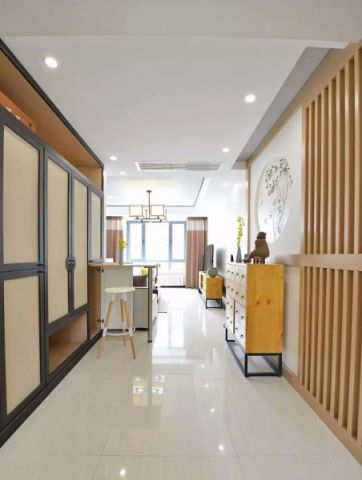 玄关走廊新中式风格装饰图片