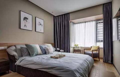 卧室飘窗简约风格装修图片