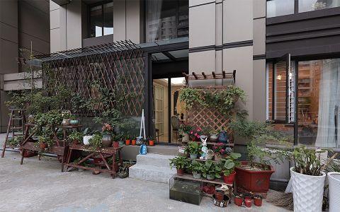 花园推拉门美式风格效果图