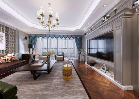 13.8万预算180平米四室两厅装修效果图