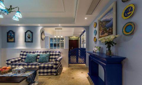 8.2万预算88平米两室两厅装修效果图