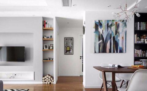 客厅走廊北欧风格装潢效果图