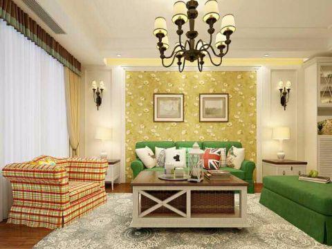 8.1万预算80平米两室两厅装修效果图