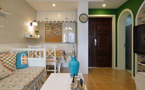 60平地中海风格公寓装修实景案例