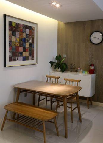 餐厅背景墙简约风格装饰效果图
