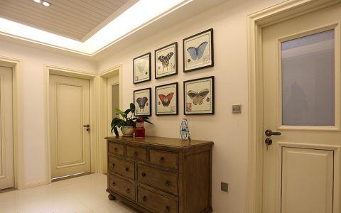 玄关背景墙简约风格装潢图片