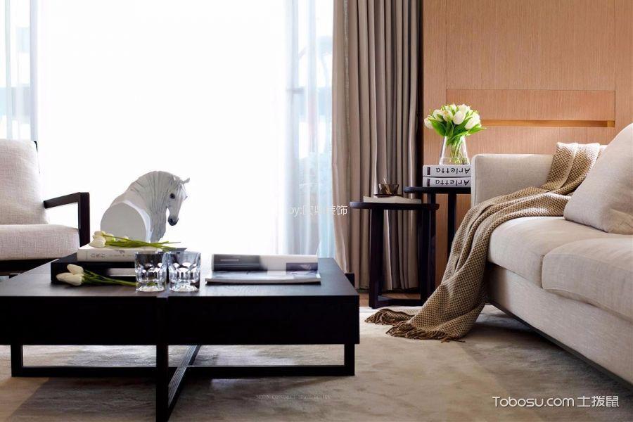 客厅黑色细节北欧风格装修图片